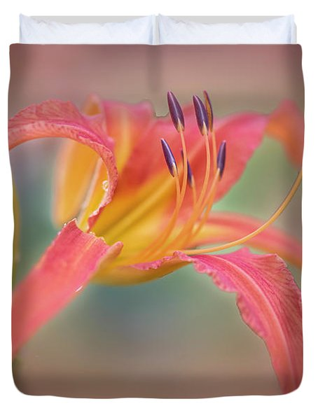 A Thing Of Beauty Lasts Only For A Day. Duvet Cover