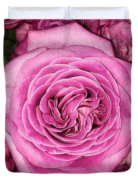 A Thousand Petals Duvet Cover