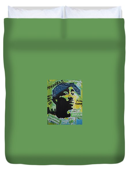 A Thugs Mind Duvet Cover