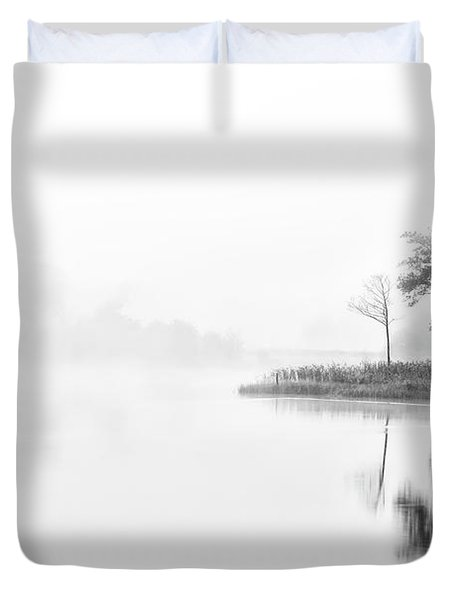 A Time For Reflection Duvet Cover