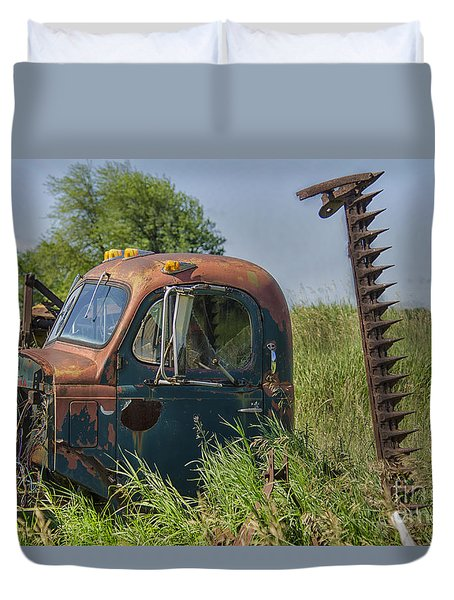 A Time Gone By Duvet Cover