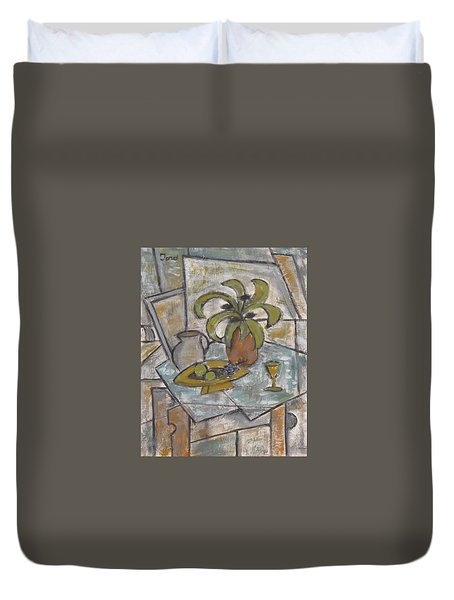A Toast To Tranquility Duvet Cover