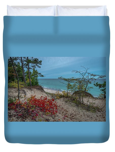 A Touch Of Color  Duvet Cover