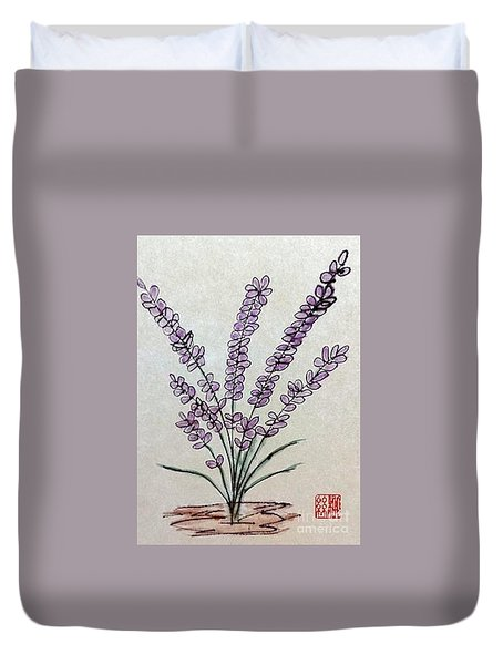 A Touch Of Lavender Duvet Cover