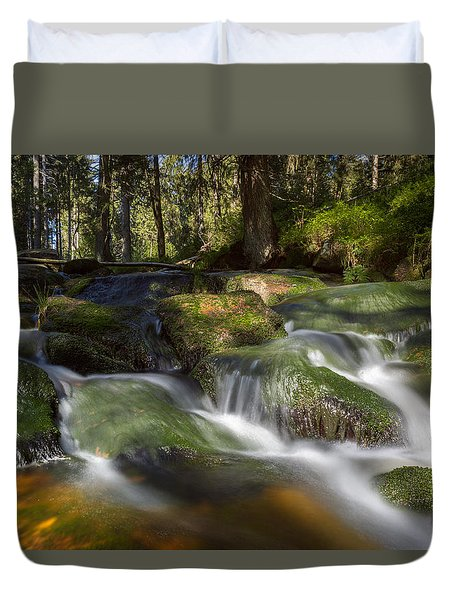 A Touch Of Light Duvet Cover by Andreas Levi