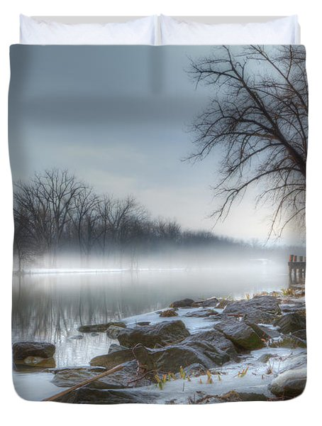 A Tranquil Evening Duvet Cover