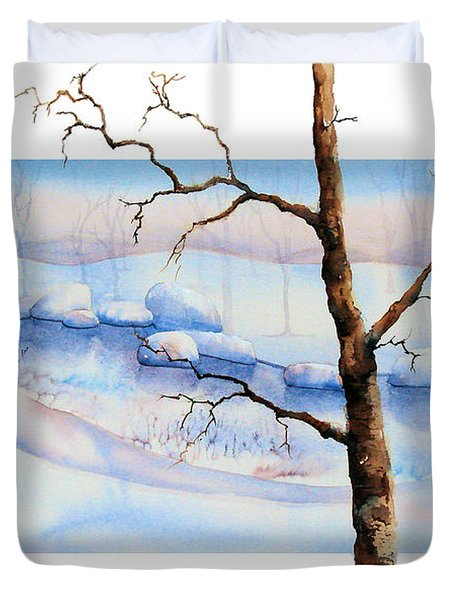 A Tree In Another Dimension Duvet Cover