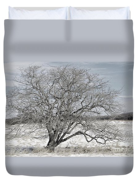 A Tree In Canaan Duvet Cover