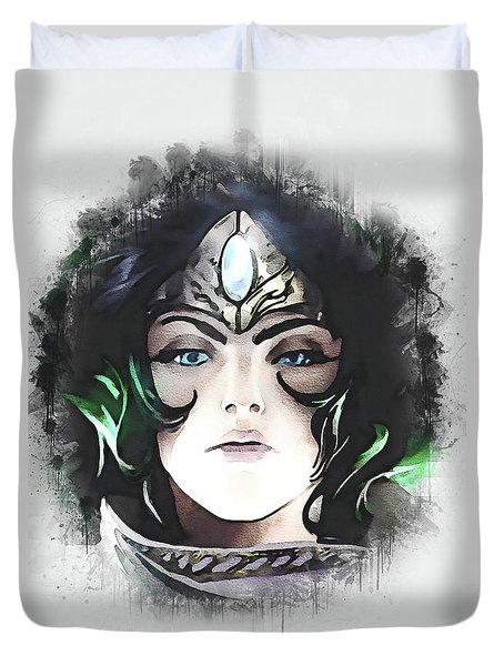 A Tribute To Sivir Duvet Cover