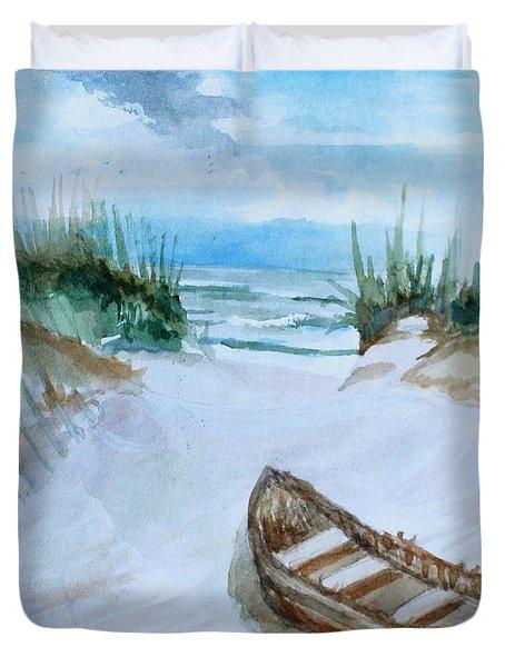 A Trip To The Beach Duvet Cover