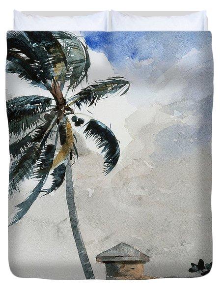 A Tropical Breeze Duvet Cover