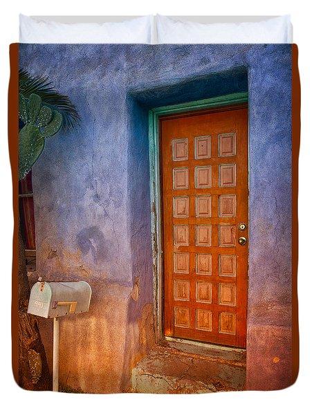 A Tucson Stoop Duvet Cover