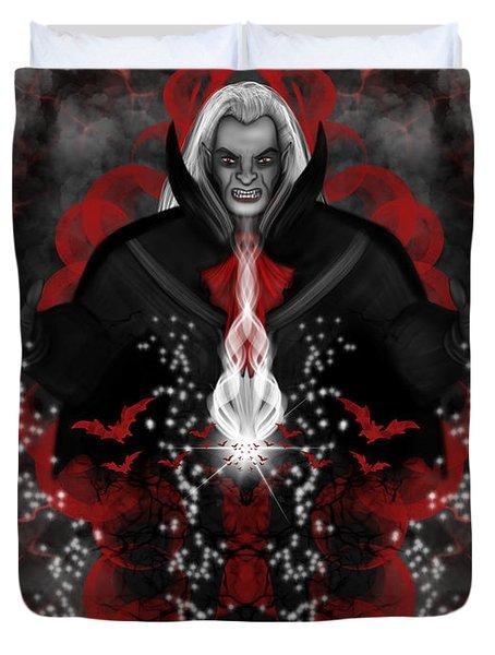 A Vampire Quest Fantasy Art Duvet Cover