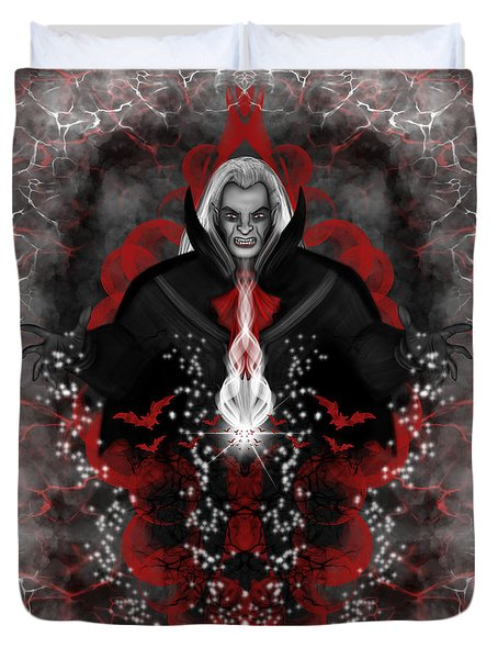 A Vampire Quest Fantasy Art Duvet Cover