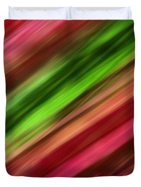A Vein Of Green Duvet Cover