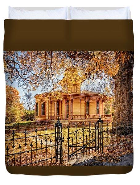 A Victorian Autumn Duvet Cover