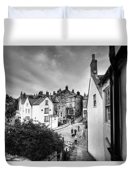 A View From Covet Hill Duvet Cover
