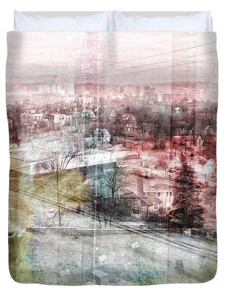 A View From Ne Minneapolis   Duvet Cover