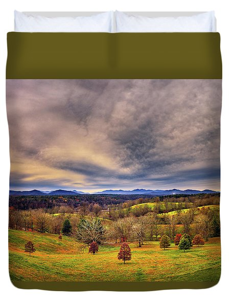 A View From The Biltmore Duvet Cover