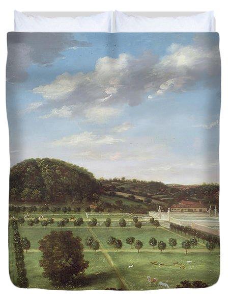A View Of Bayhall - Pembury Duvet Cover
