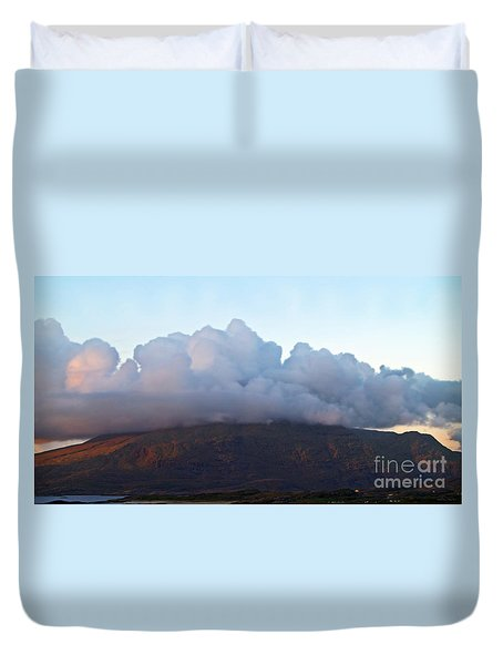 A View To Live For Duvet Cover