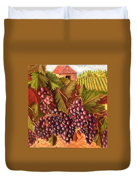 A Vineyard  Duvet Cover