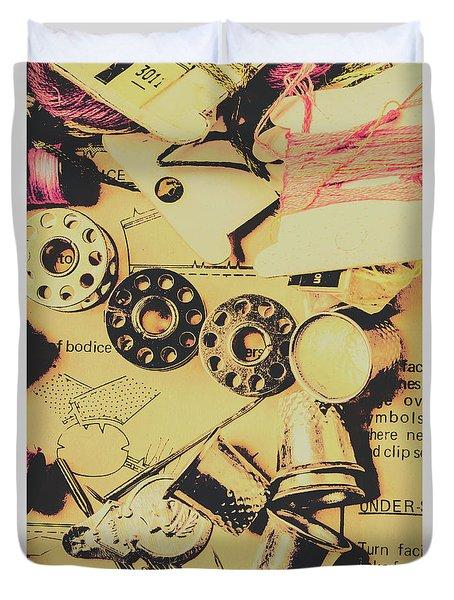 A Vintage Embellishment Duvet Cover