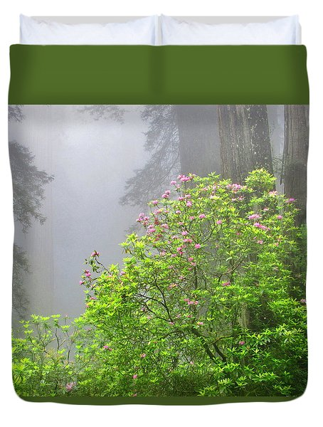 A Walk Alone Duvet Cover