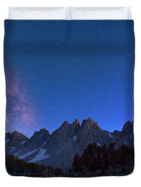 A Walk Beneath The Stars Duvet Cover