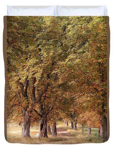 A Walk In The Countryside Duvet Cover
