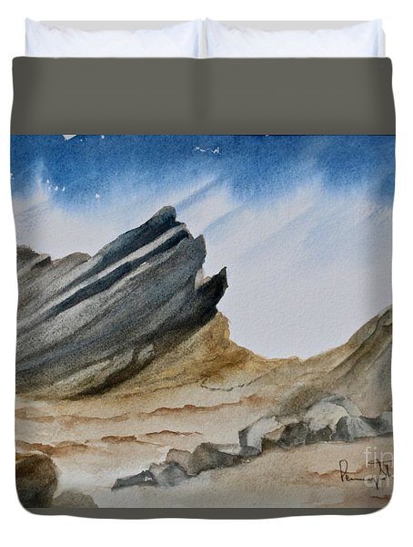 A Walk In The Desert Duvet Cover