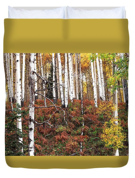 A Walk In The Forest Duvet Cover