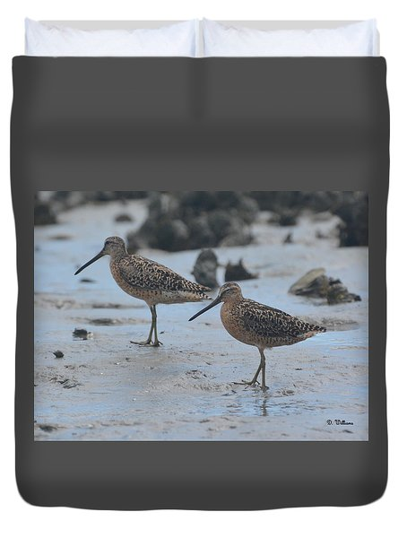 A Walk In The Mud... Duvet Cover