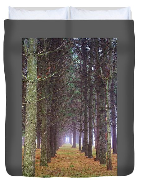 A Walk In The Woodlands Duvet Cover