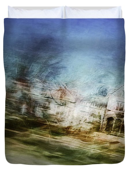 A Walk On The East Side Duvet Cover