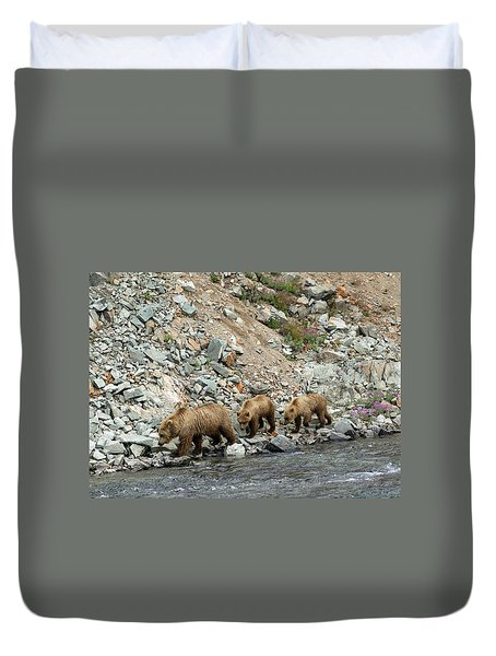 A Walk On The Wild Side Duvet Cover