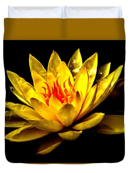 A Water Lily Duvet Cover