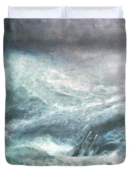 a wave my way by Jarko Duvet Cover