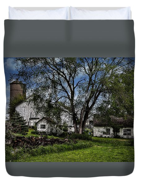 Duvet Cover featuring the photograph A Way Of Life by Deborah Klubertanz