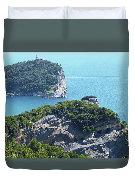 A Way To The Ocean Duvet Cover