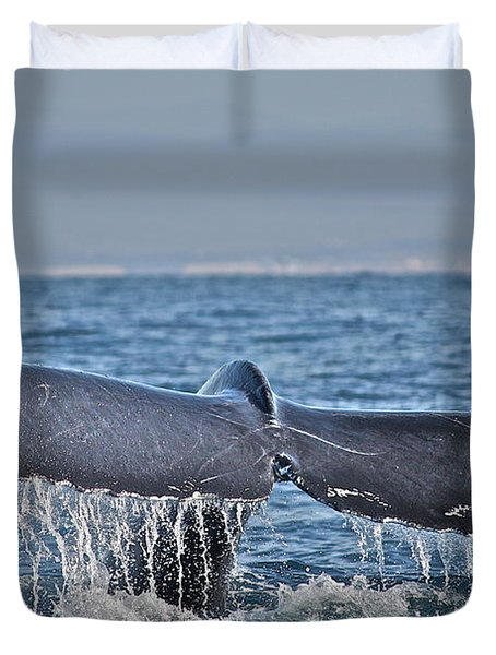 A Whale Of A Tale Duvet Cover