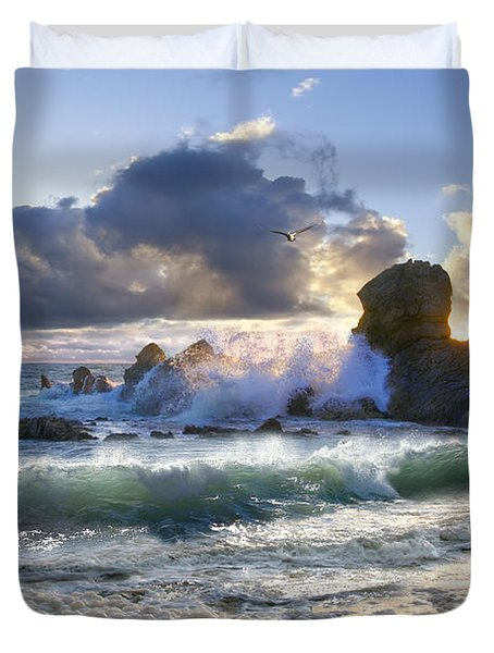A Whisper In The Wind Duvet Cover