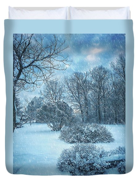 A Winters Tale Duvet Cover