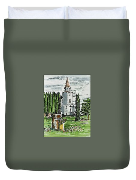 A Wisconsin Beauty Duvet Cover by Terry Banderas
