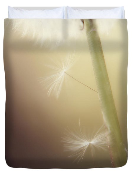 Duvet Cover featuring the photograph A Wish And A Prayer by Amy Tyler