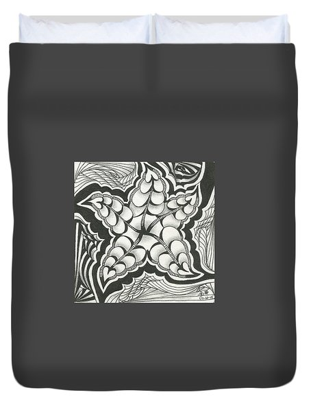 A Woman's Heart Duvet Cover