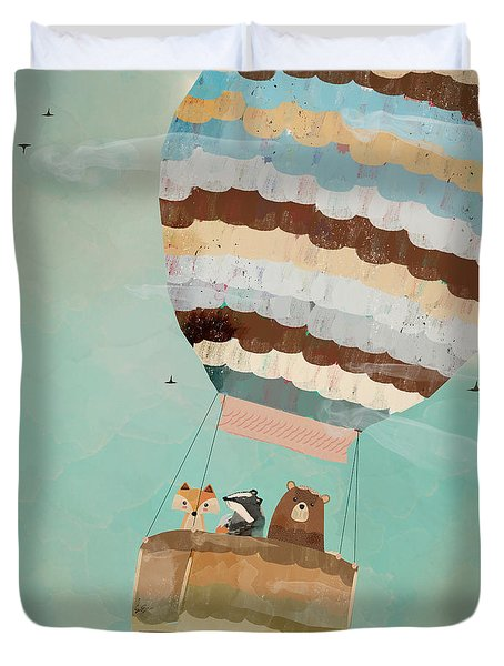 A Wondrous Little Adventure Duvet Cover