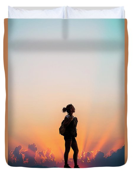 A World Of Adventure Duvet Cover