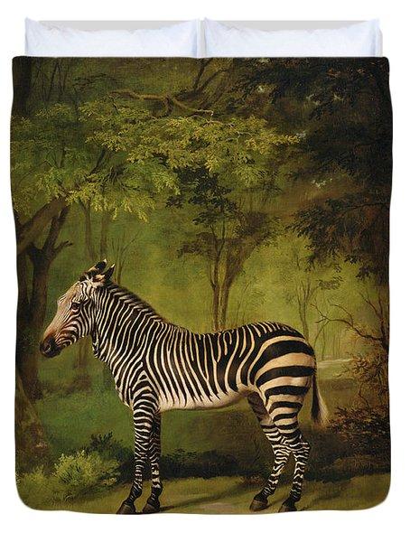 A Zebra Duvet Cover