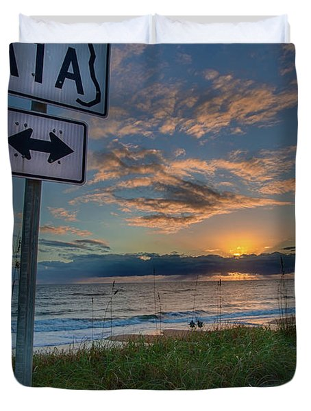 A1a Sunrise Duvet Cover